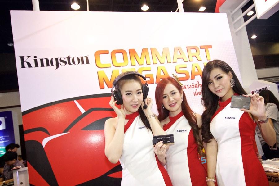 [PR] Kingston ยกขบวนสินค้า โปรโมชั่นจัดหนัก ในงาน Commart Thailand 2015