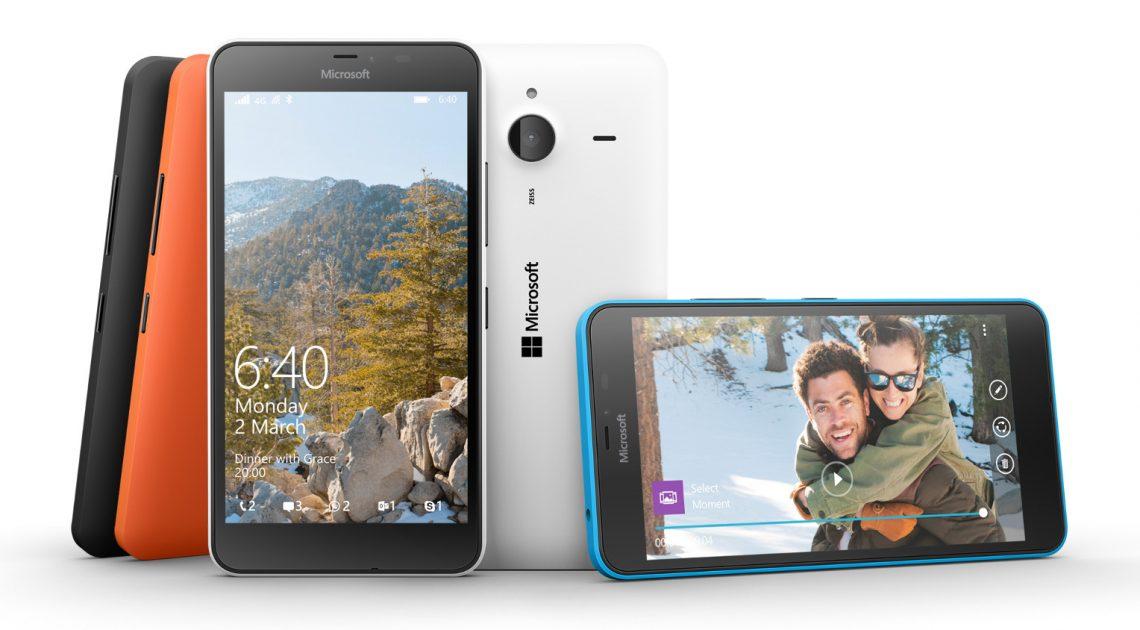 [MWC 2015] Microsoft เปิดตัว Lumia 640 และ 640 XL รองรับ 4G LTEเน้นราคาประหยัด เริ่มต้นที่ 5,xxx บาท