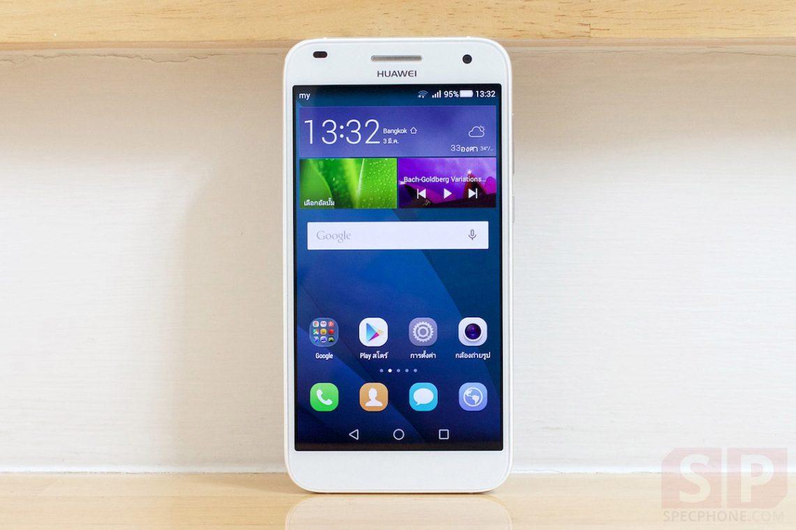 [Review] รีวิว Huawei Ascend G7 มือถือบอดี้โลหะ Ram 2 GB แบต 3000 mAh ในราคาไม่ถึงหมื่น