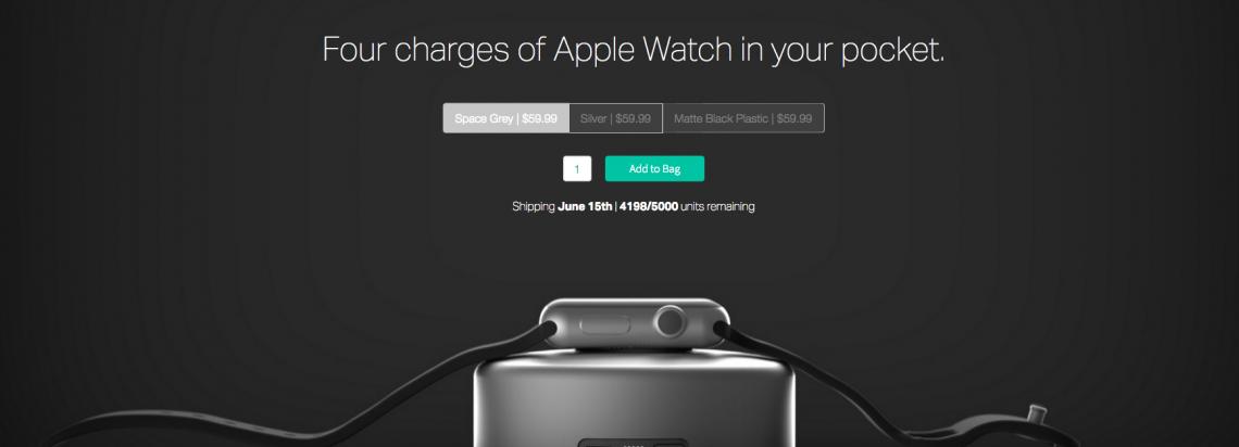 แบตไม่พอใช่มั้ย เอานี่ไปเลย !! Nomad ออกแบตเสริมสำหรับ Apple Watch แล้ว สนนราคาเกือบ 2,000 บาท
