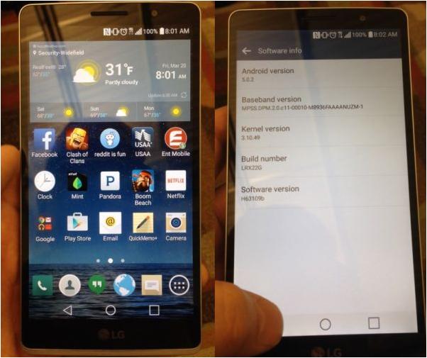 [ไม่ยืนยัน] เผยโฉม LG G4 กับหน้าตาลูกผสมของ G2 กับ G3 เล็งเปิดตัวเดือนเมษายนนี้