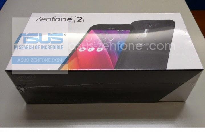 Unboxing Asus Zenfone 2 ZE500CL - 001