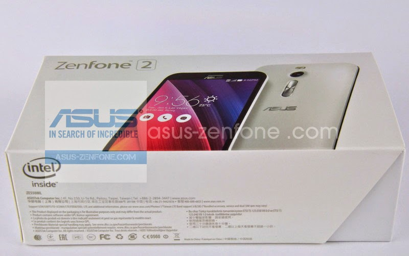 Unboxing Asus Zenfone 2 ZE550ML 1