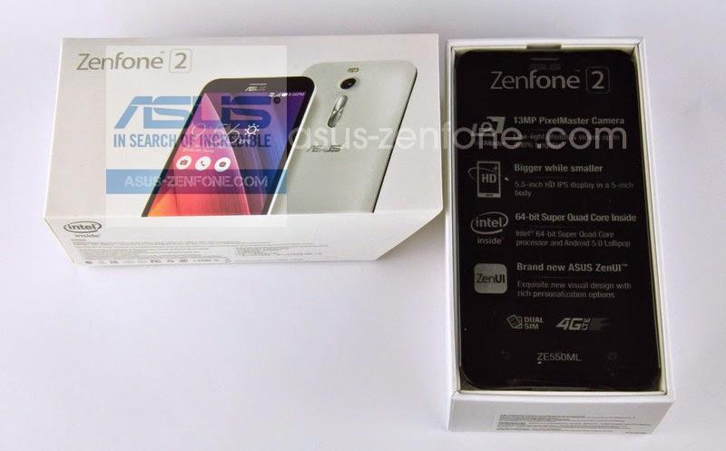 Unboxing Asus Zenfone 2 ZE550ML 3