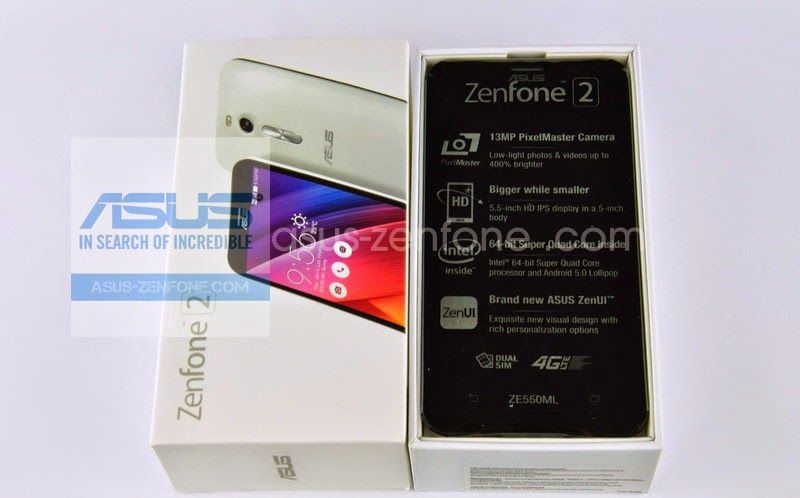 Unboxing Asus Zenfone 2 ZE550ML 4