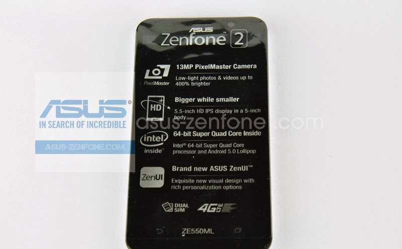 Unboxing Asus Zenfone 2 ZE550ML 5