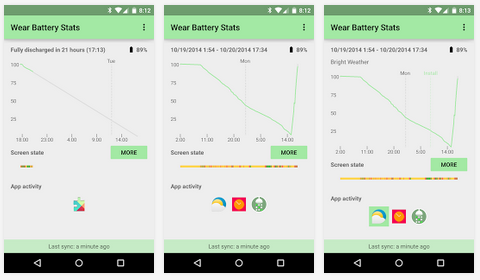 Wearable-Battery-Stats