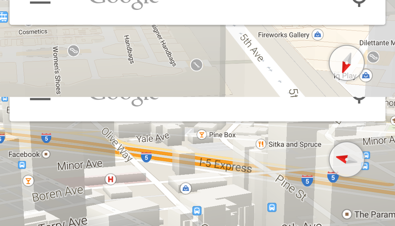 google-maps-compass-screens