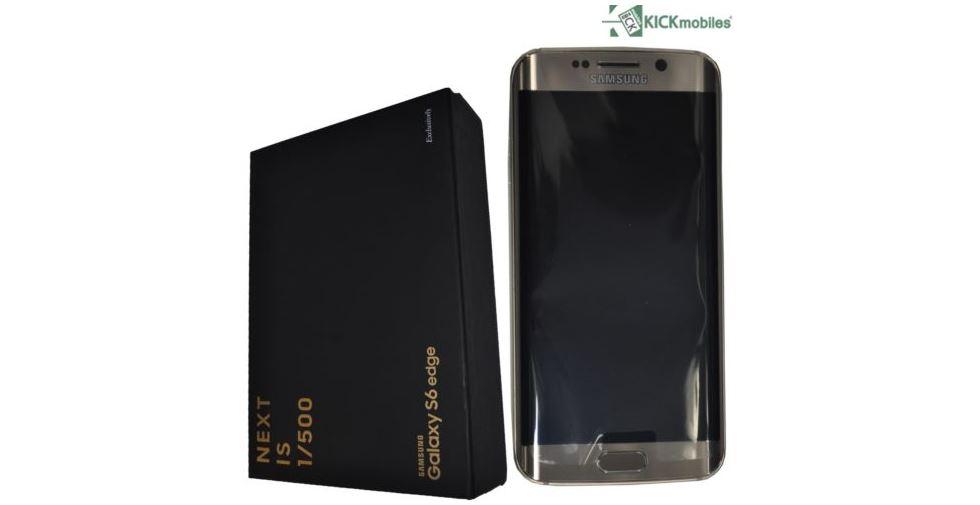 เคาะราคา Galaxy S6 Edge Platinum Gold ใน Ebay ที่อาจทำให้คุณเสียวไส้!!!