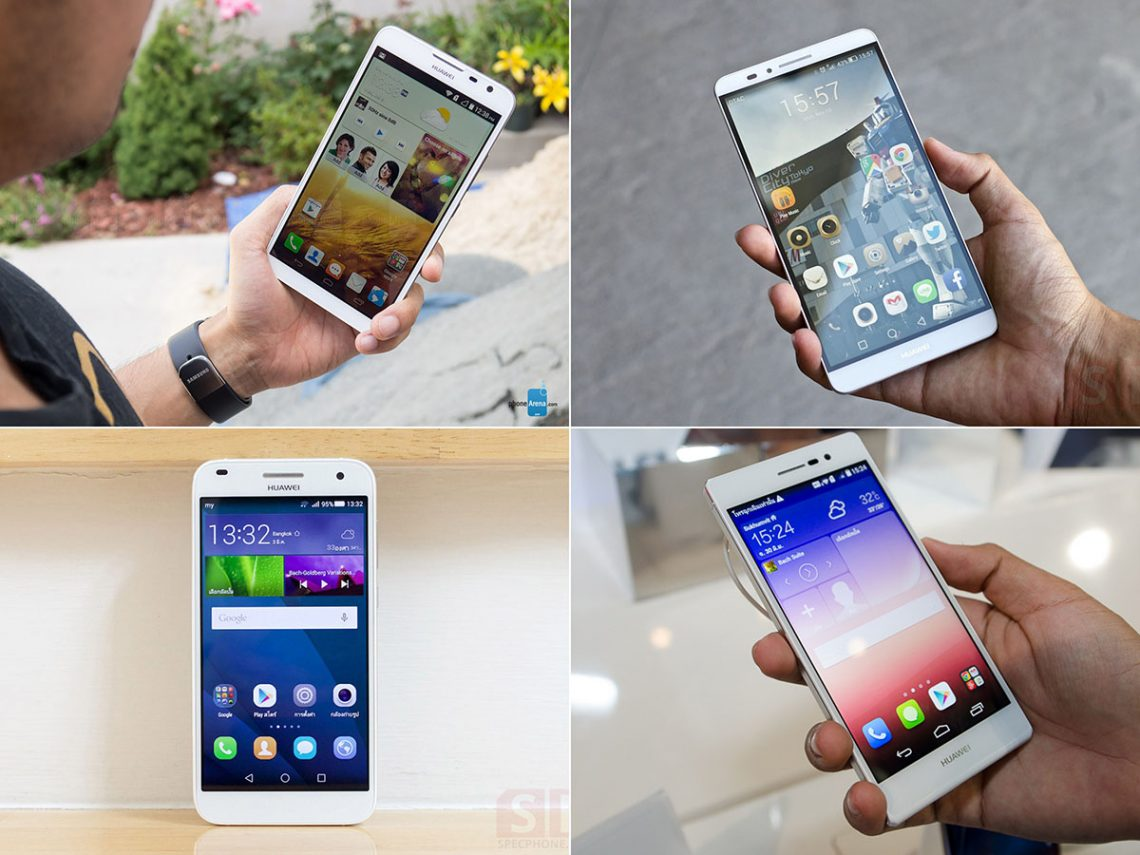 Huawei Ascend Mate 7, P7, Mate 2 และ G7 จะได้รับอัพเดต Lollipop ภายในปีนี้แน่นอน!!