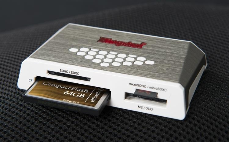 [PR] Kingston ปล่อย Media Reader ความเร็วสูง เจนเนอเรชั่นที่ 4 พร้อมการ์ดหน่วยความจำ 64 GB 600X CF Card