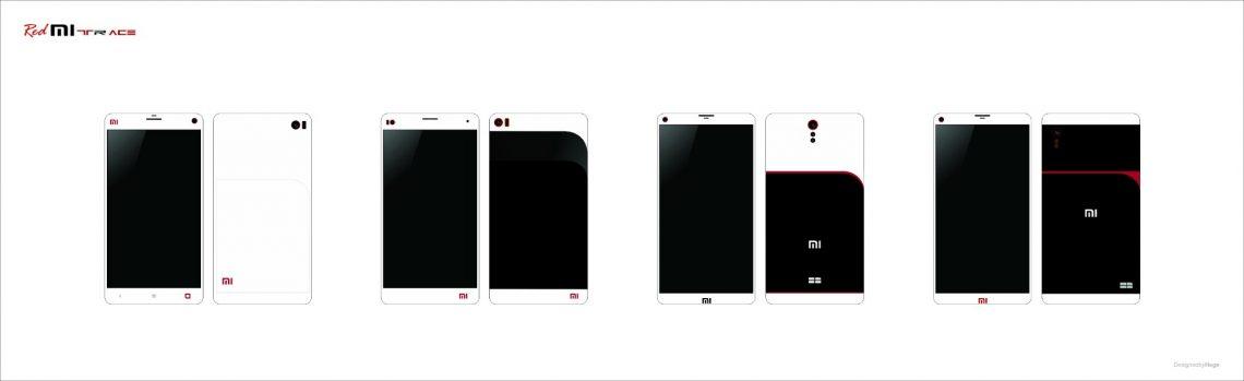 มาดูภาพ Concept ของสมาร์ทโฟนแดนมังกรอย่าง Xiaomi ใน RedMi Trace Series กันดีกว่า