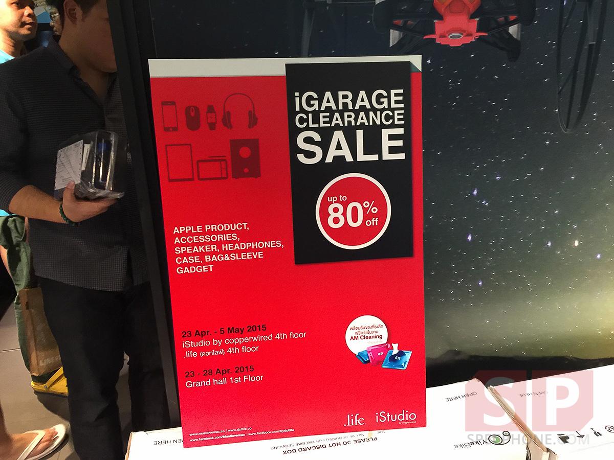 บรรยากาศงาน iGarage Sale up to 80% @iStudio Siam Discovery จะมีอะไรลด อะไรเหลือบ้าง คนเยอะแค่ไหน