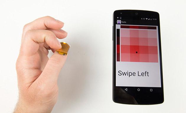 Gadget สุดเจ๋ง คุมสมาร์ทโฟนได้ เพียงแค่ปลายนิ้วโป้ง