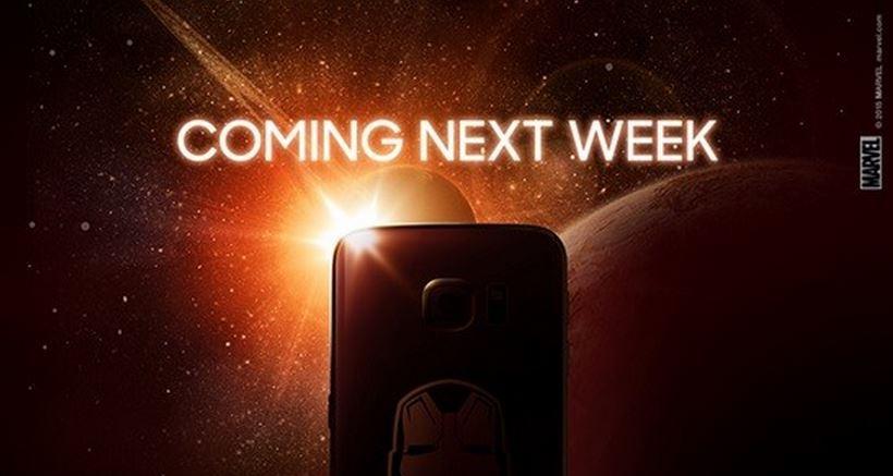 มาจริงๆแล้ว Galaxy S6 Edge Iron man edition สัปดาห์หน้าเจอกัน!!!