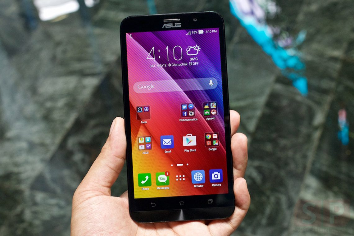 [Review] ASUS Zenfone 2 แรม 2 GB (ZE550ML) ถึงจะรุ่นเล็ก แต่สเปคไม่เบาในราคา 6,990 บาท