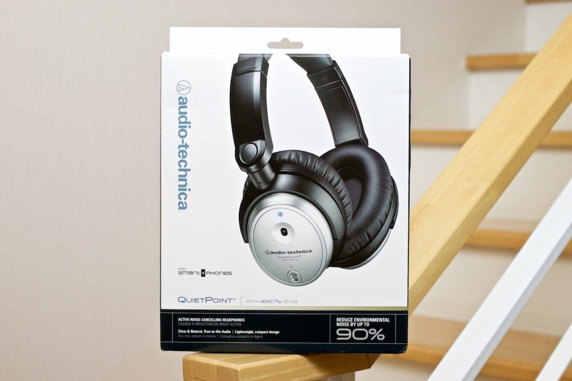 [Review] หูฟัง Audio Technica ATH-ANC7b-SViS ที่มาพร้อมระบบตัดเสียง QuietPoint