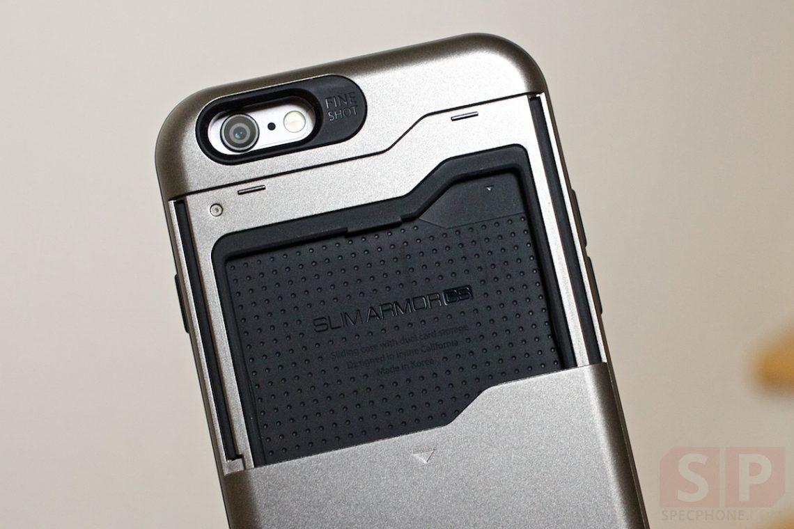[Review] เคส SPIGEN Slim Armor CS สำหรับ iPhone 6 พร้อมช่องใส่บัตรรถไฟฟ้าในตัว