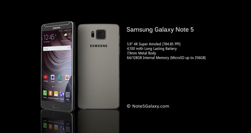 Samsung เตรียมเปิดตัว Galaxy Note 5 เร็วกว่าเดิมในเดือนกรกฎาคม เตรียมชน iPhone 6s Plus
