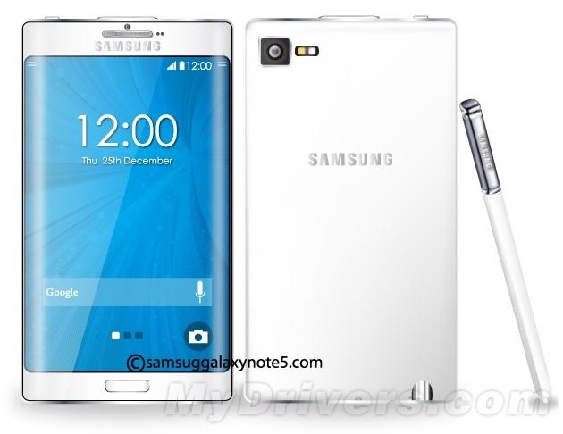 [ลือ] Galaxy Note 5 จะมาพร้อมขอบจอโค้งทั้งสองด้าน