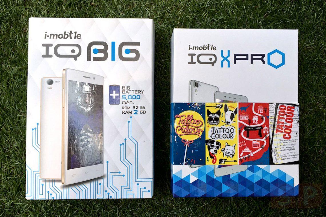 แกะกล่องพรีวิว i-mobile IQ BIG และ IQ X Pro สองมือถือตัวคุ้มรุ่นล่าสุดจากงาน TME 2015
