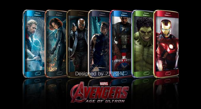 Samsung เอาใจแฟนๆ Marvel ด้วย Galaxy S6 และ S6 Edge เวอร์ชัน Iron Man