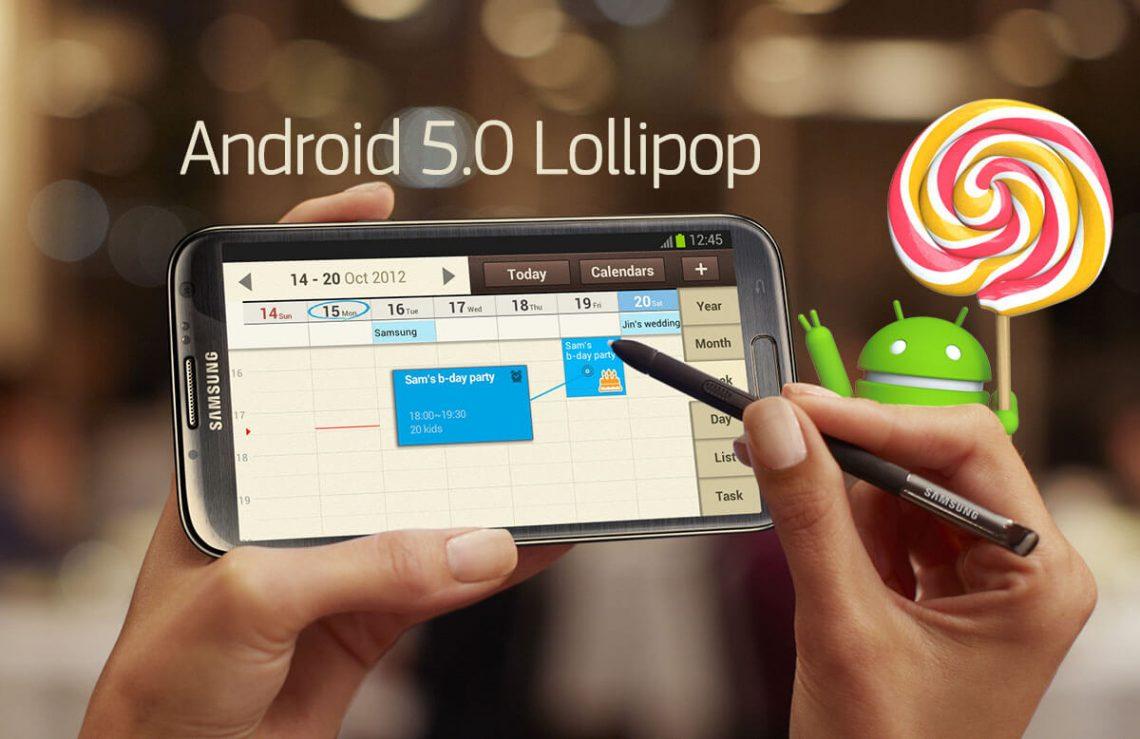 ผู้ใช้ Note 2 มีหวังลิบๆ เมื่อเครื่องในประเทศเดนมาร์กอาจได้รับ Lollipop 5.0