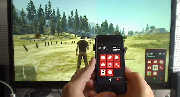 จะเป็นอย่างไรถ้าหากคุมสมาร์ทโฟนใน GTA V ได้ผ่าน iPhone จริงๆ