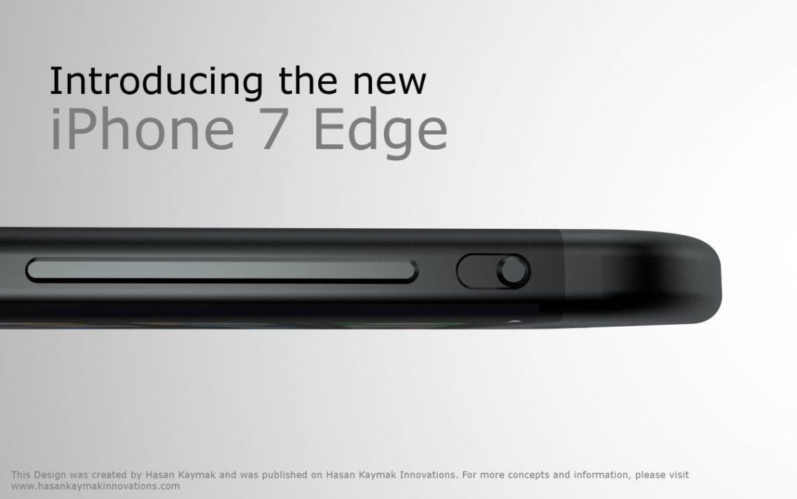 ภาพคอนเซ็ปท์ iPhone 7 Edge มาอีกแล้ว ขอบจอโค้ง ตัดพอร์ต Lightning ออก