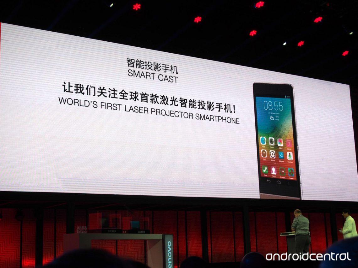 Lenovo เปิดตัว Smart Cast สมาร์ทโฟน Laser projector