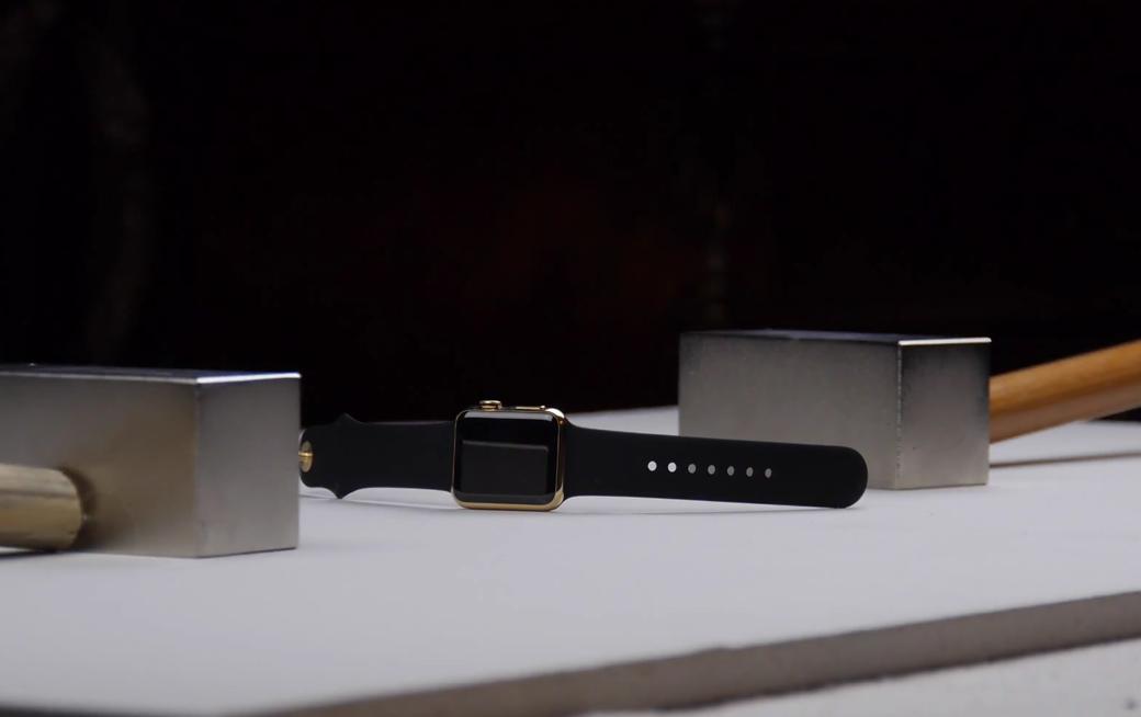 สงสัยเงินเหลือจับ Apple Watch Edition ทองคำ มาบี้เล่นด้วยแม่เหล็กแรงสูง