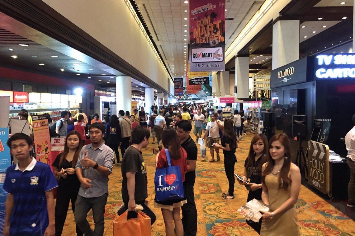 รวมภาพบรรยากาศบูท และของที่น่าสนใจในงาน Commart NextGen Thailand 2015 (เน้นมือถือ)