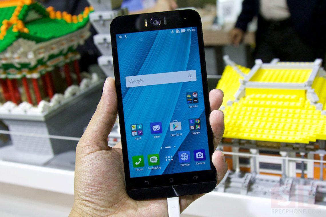 [Hands-on] ลองจับ Asus Zenfone Selfie มือถือ Zenfone 2 รุ่นปรับสเปค เพิ่มกล้องหน้า-หลัง 13 ล้านพิกเซล