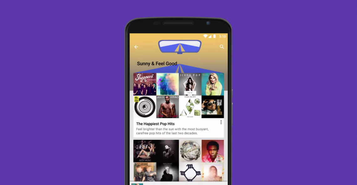 Google เปิดตัวบริการสตรีมมิ่งเพลงฟรี: Google Play Music ตัดหน้า Apple Music