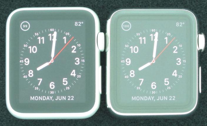 รายงานเผย Apple Watch รุ่นถูกที่ใช้จอ Ion-X สะท้อนแสงน้อยกว่าจอ Sapphire ในรุ่นแพงเกือบ 74%