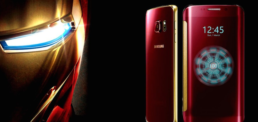 Samsung Galaxy S6 edge Iron Man เครื่องที่ 66 ขายในจีนได้ราคากว่า 3,000,000 บาท !!