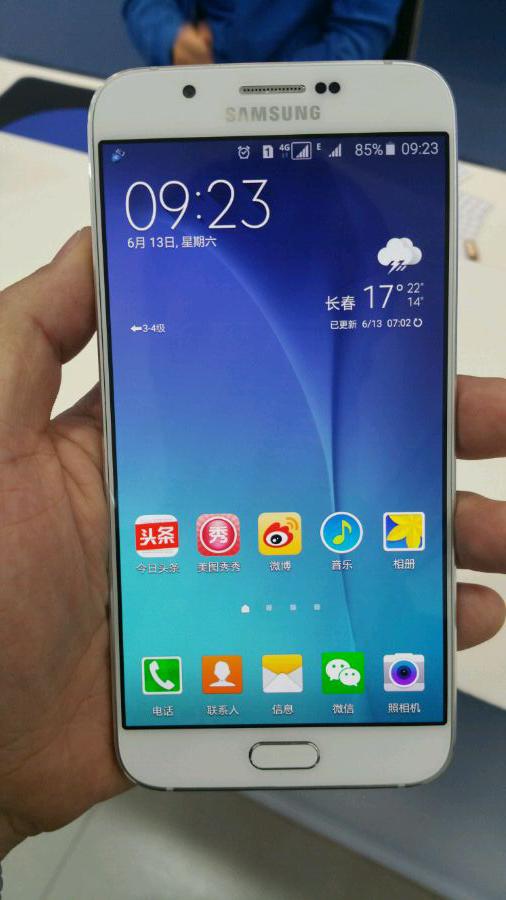 หลุดภาพ Samsung Galaxy A8 สมาร์ทโฟนที่บางที่สุดของ Samsung