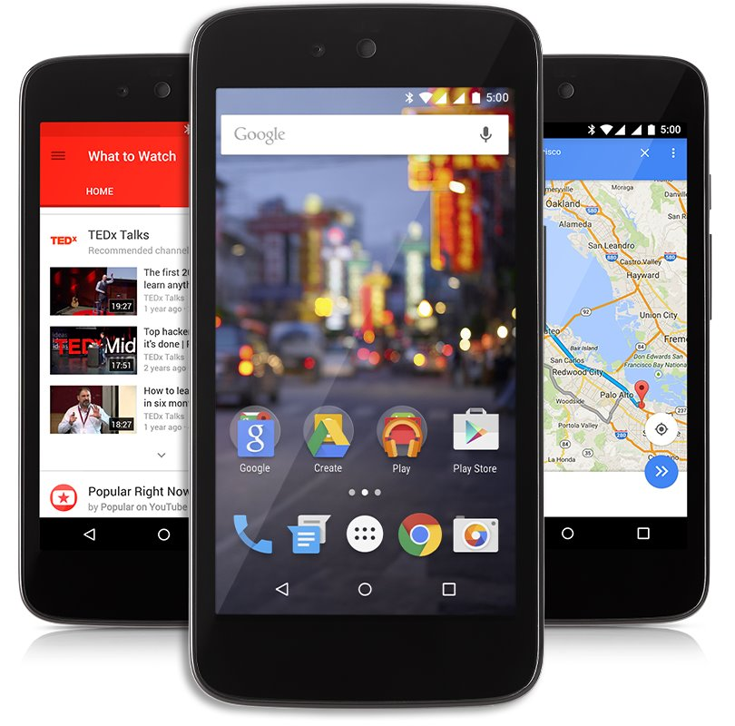 Android One Android 5.1 Lollipop Pic 2