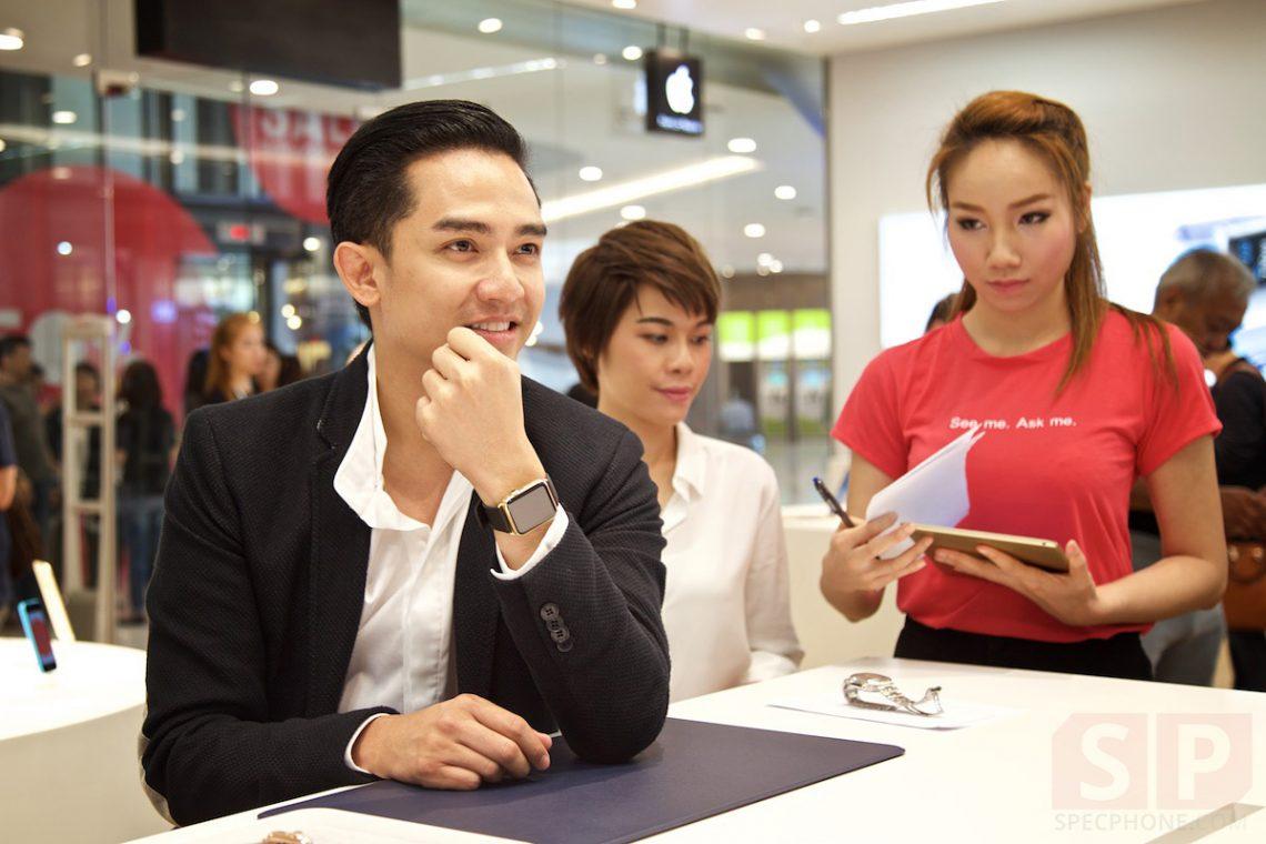 บรรยากาศงานเปิดตัว Apple Watch ครั้งแรกในไทยที่ iStudio by Comseven สาขา The EmQuartier