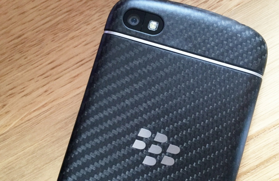 BlackBerry Q10 logo