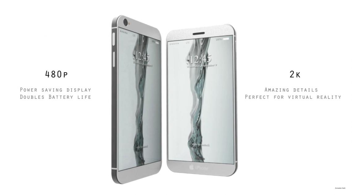 โชว์คอนเซ็ปท์ใหม่ iPhone 8 สุดล้ำ มาพร้อม 2 จอ ทั้งด้านหน้า และด้านหลังเครื่อง