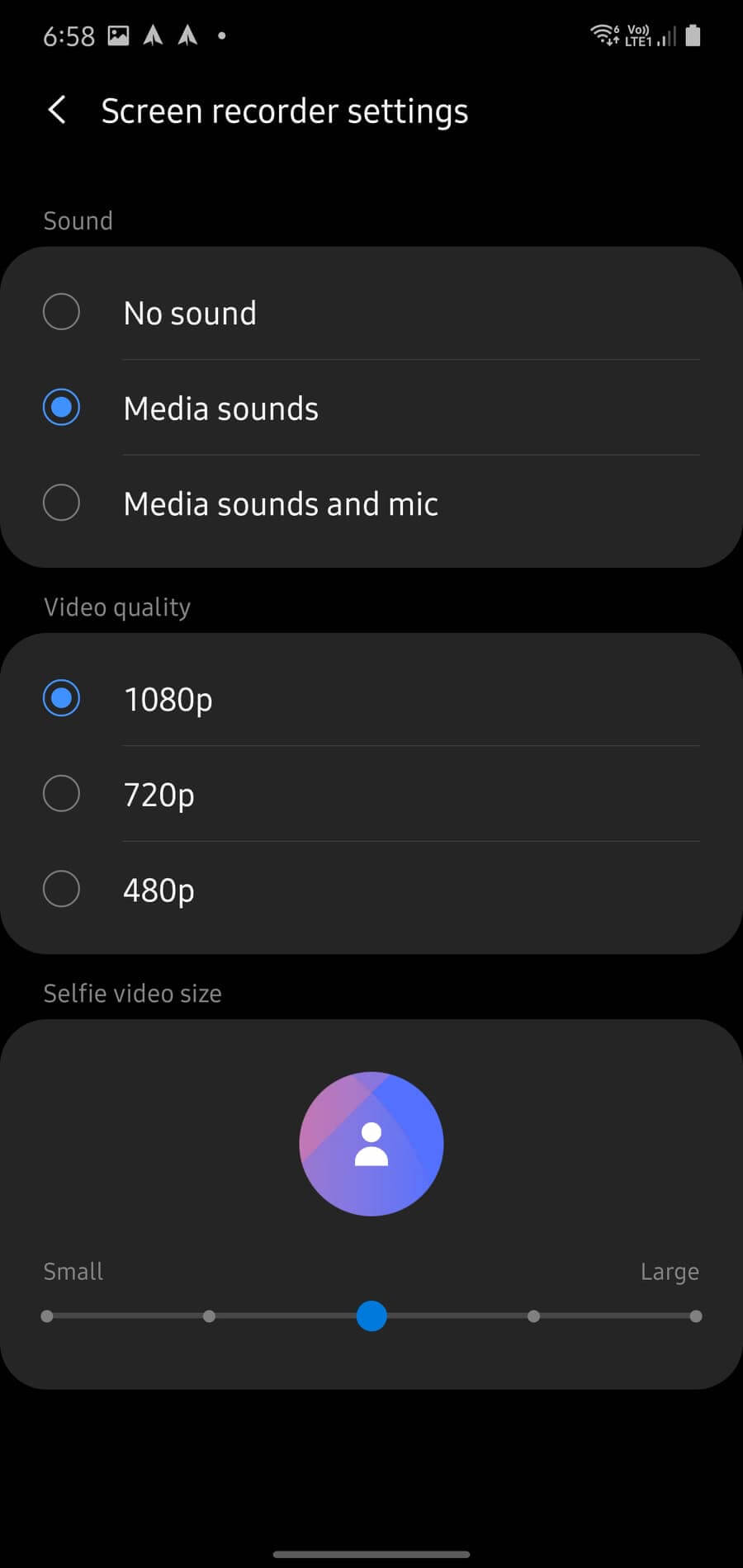 How to video screen recording samsung 00002