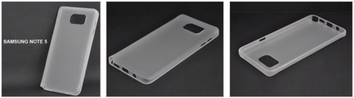 หลุดมาแล้ว! เคสสำหรับมือถือรุ่นท็อปสองรุ่น Samsung Galaxy Note 5 และ Galaxy S6 Edge มาดูกันเลย