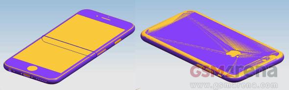 [มีรูป] iPhone 6s และ iPhone 6s Plus จะหนาขึ้นเล็กน้อย