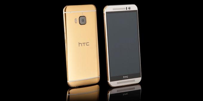 Goldgenie เปิดตัว HTC One M9 เวอร์ชัน Gold เคลือบทอง 24K ราคาเฉียดแสน!