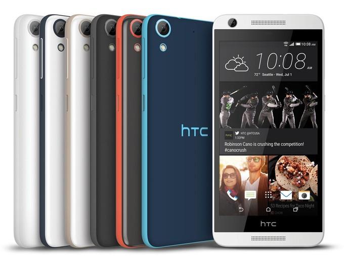 HTC เปิดตัว 4 สมาร์ทโฟนราคาประหยัดตระกูล Desire 4 รุ่นรวดกับ HTC Desire 626, 626s, 526 และ 520