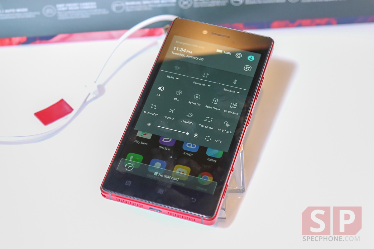 Hands on Preview lenovo Vibe Shot SpecPhone 008