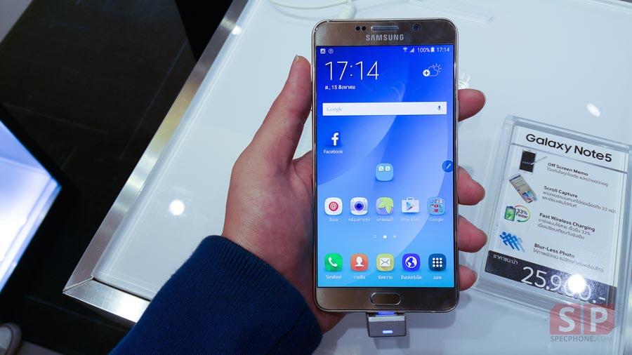 ความรู้สึกแรก เมื่อได้สัมผัสกับ Samsung Galaxy Note 5 จากคน คนหนึ่งที่ใช้ Note 4 อยู่