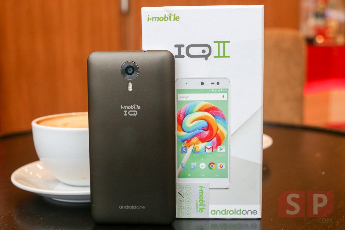 [Review] รีวิว i-mobile IQ II มือถือ Android One รุ่นแรกในไทย หน้าจอ 5 นิ้ว, Ram 1 GB, อัพเดตนาน 2 ปี ราคา 4,444 บาท