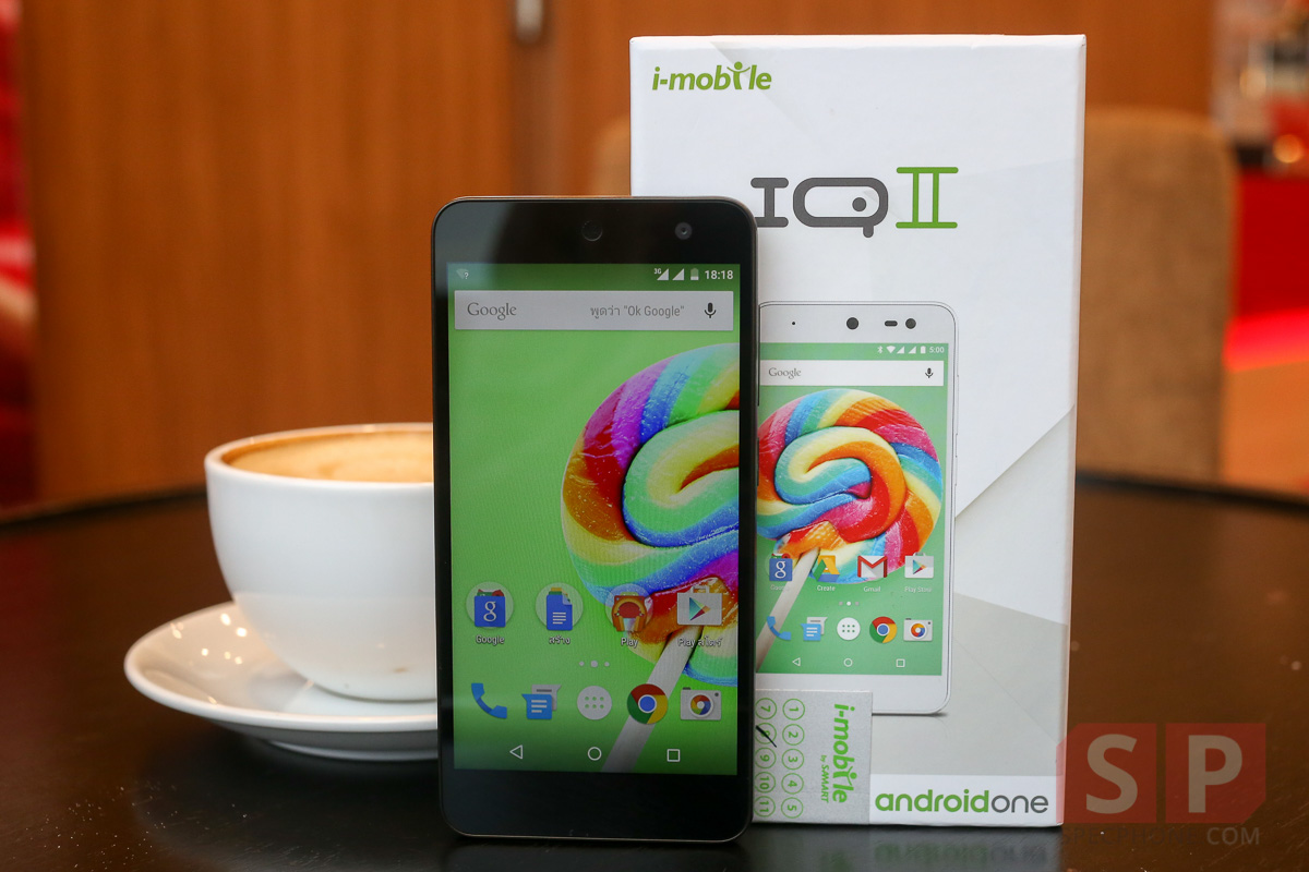 Reivew i mobile IQ II Android One SpecPhone 0211
